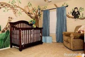 طراحی دکوراسیون داخلی اتاق نوزاد