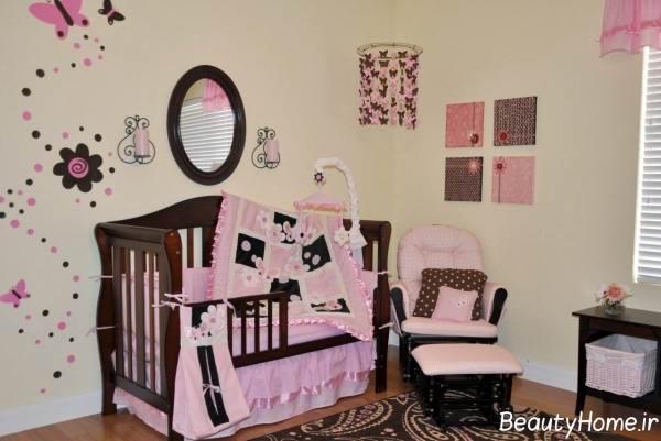 دیزاین مدرن اتاق نوزاد