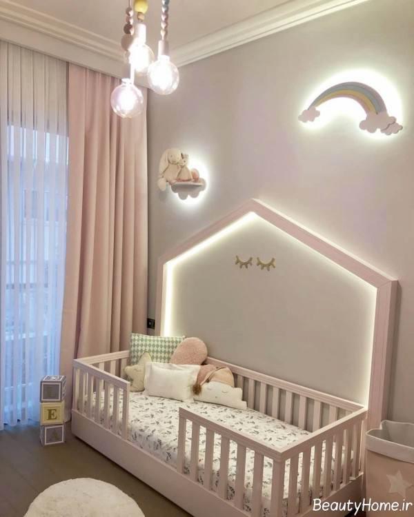 نورپردازی اتاق نوزاد