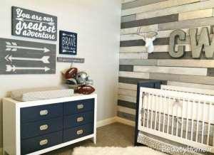 دکوراسیون اتاق کلاسیک برای نوزاد