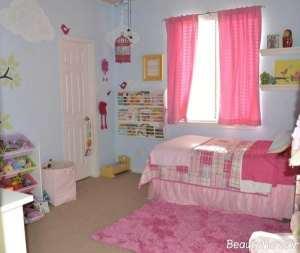 دکوراسیون اتاق دخترانه جوان