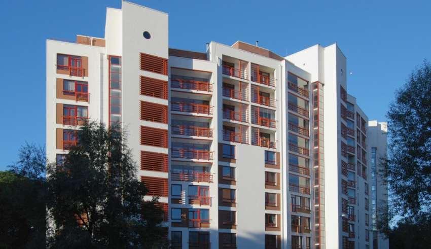 نمای ساختمان ۱۰ طبقه با بیست طراحی زیبا و متفاوت
