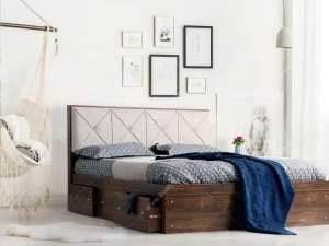 طرح تخت خواب شیک