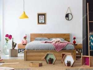 طرح تخت خواب دو نفره
