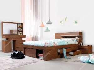 تخت خواب زیبا و ساده