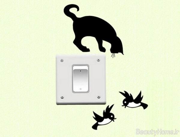 ایده های خلاقانه برای تزیینات پریز برق