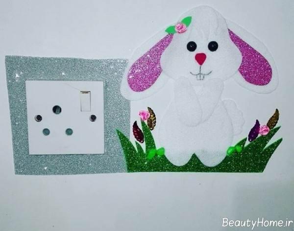 تزیین پریز برق برای اتاق کودک