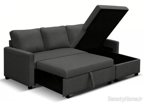 مبل تختخواب شو مدرن