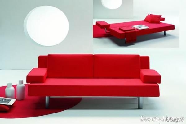 مدل مبل قرمز