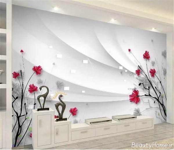 کاغذ دیواری جدید