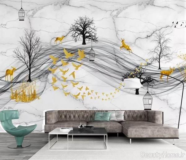 کاغذ دیواری پوستری و جدید