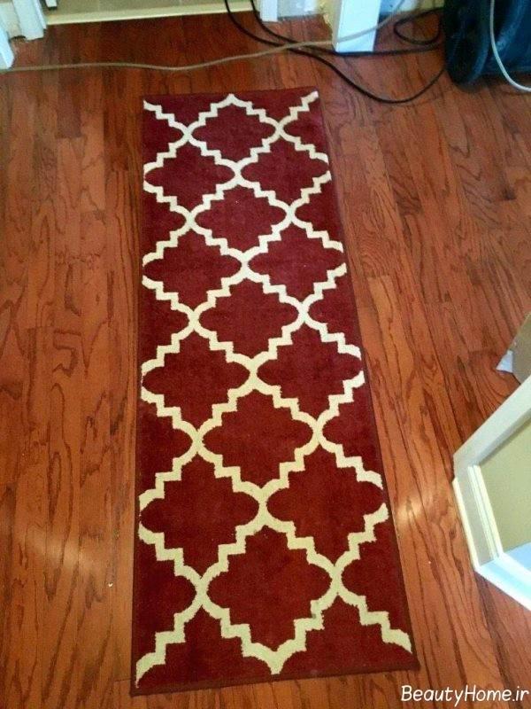 قالیچه دو رنگ