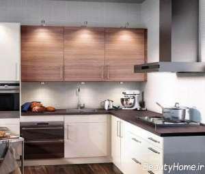 دیزاین داخلی آشپزخانه کوچک