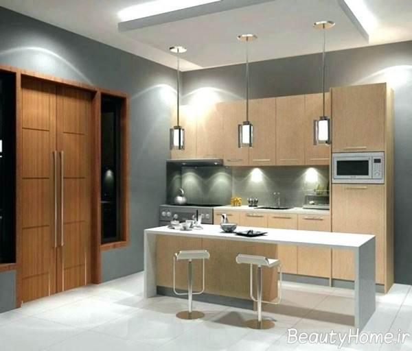 دکوراسیون داخلی آشپزخانه کوچک