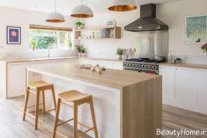 دیزاین آشپزخانه زیبا و کاربردی