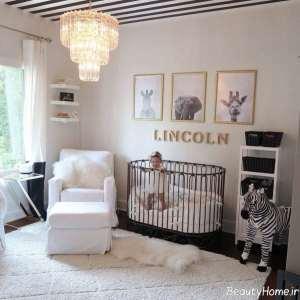 تزیین اتاق نوزاد با ایده های خلاقانه