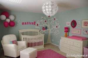 تزیین زیبا و خلاقانه برای اتاق نوزاد