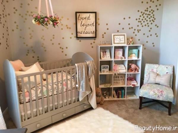 تزیینات خلاقانه اتاق نوزاد