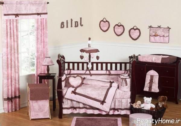 تزیین زیبا اتاق نوزادان