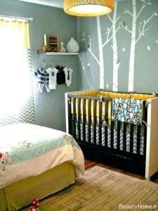 تزیینات زیبا اتاق نوزاد دختر