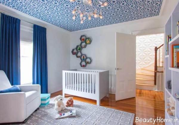 تزیین سقف اتاق نوزاد