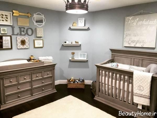 تزیین زیبا و خلاقانه اتاق نوزاد
