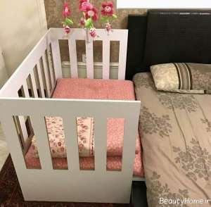 تختخواب ام دی اف نوزادی