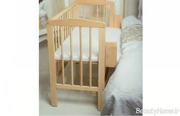 طرح تخت نوزادی