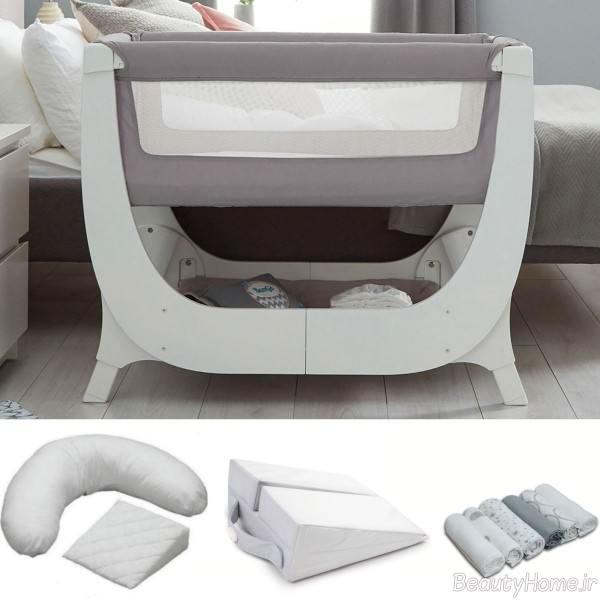 تختخواب پایه دار نوزادی