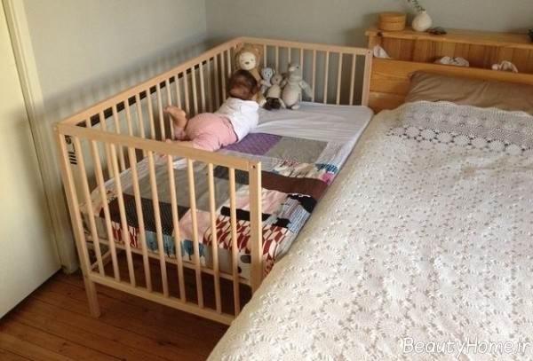 تختخواب شیک نوزادی