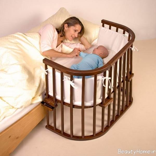 تختخواب ساده نوزاد