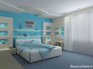 دکوراسیون اتاق خواب 12 متری