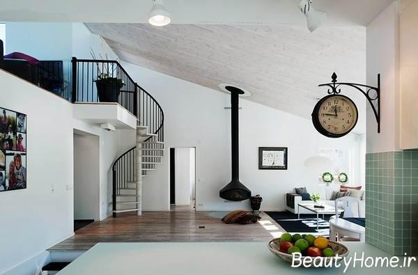 دیزاین مدرن خانه دوبلکس