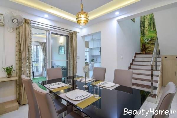 دکوراسیون زیبا و متفاوت خانه دوبلکس
