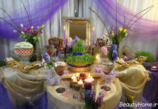 چیدمان هفت سین برای عید نوروز 99