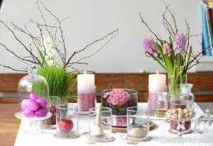 چیدمان زیبا هفت سین روی میز