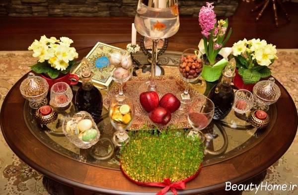 تزیین هفت سین برای عید نوروز