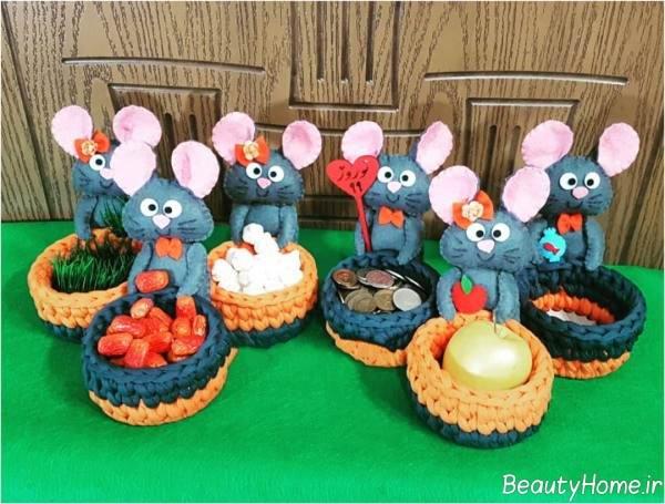 هفت سین زیبا سال موش