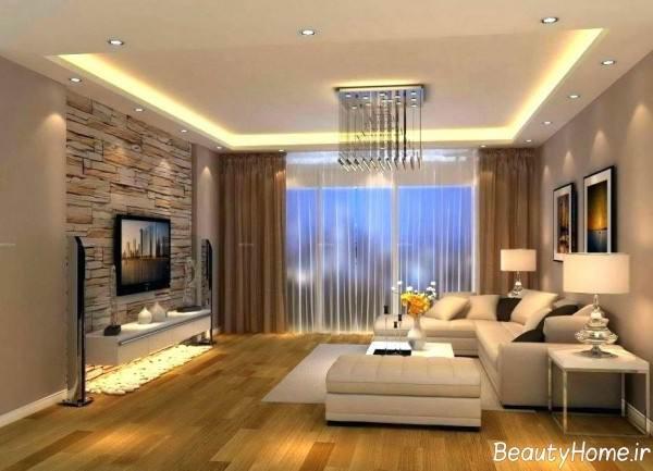 دیزاین زیبا و شیک نشیمن