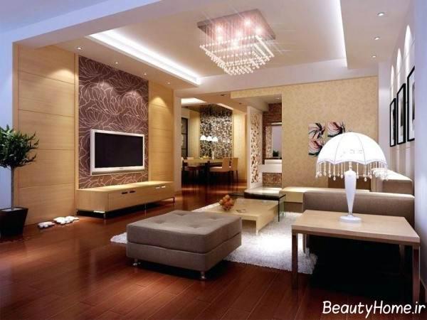 طراحی نورپردازی نشیمن