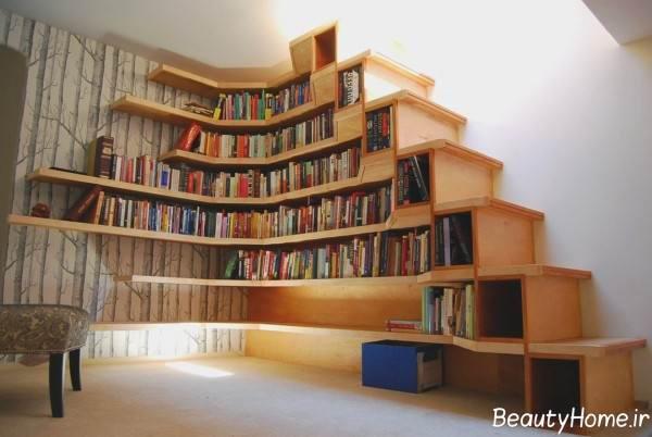 مدل کتابخانه شیک
