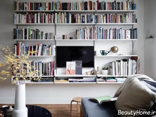 کتابخانه زیبا و کاربردی