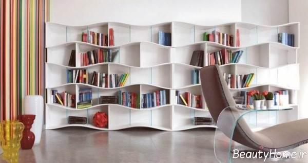 طرح کتابخانه شیک