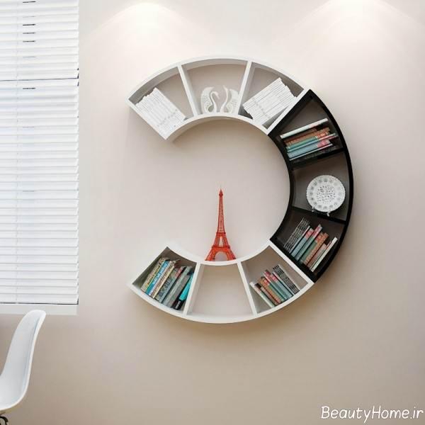 قفسه کتاب زیبا
