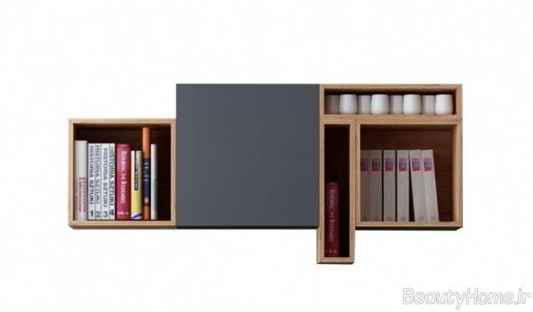 قفسه دیواری کتاب