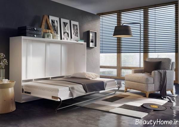 مدل تخت خواب تاشو نوجوان