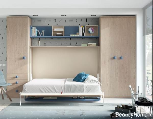 مدل تخت خواب تاشو شیک و جدید