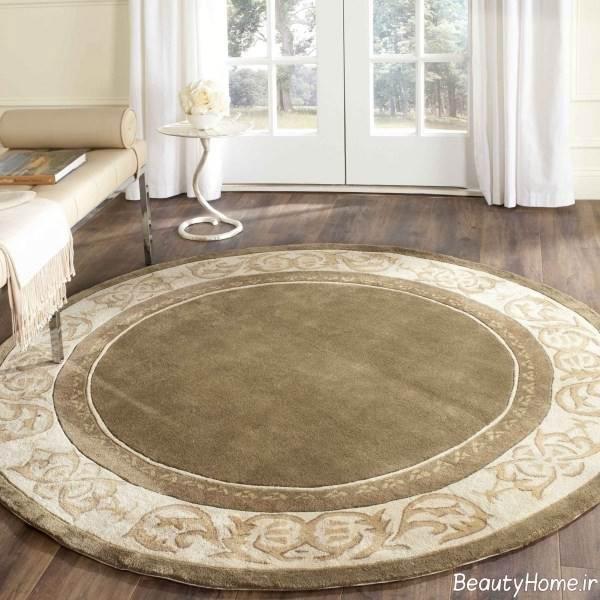 فرش دایره ای