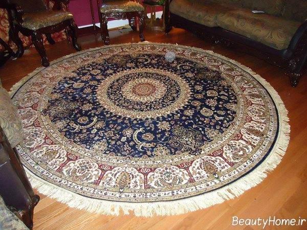 فرش گرد خاص