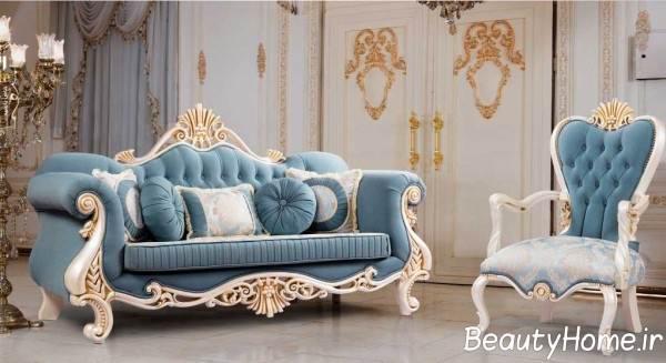 مدل مبل سلطنتی زیبا و متفاوت